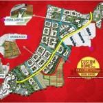 Master Plan Perumahan Malibu Village