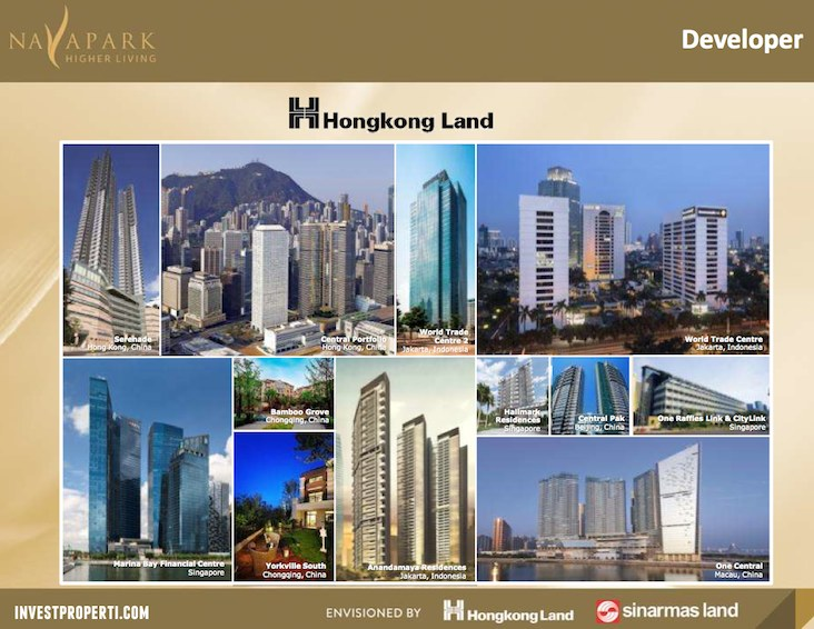 Navapark BSD Hongkong Land