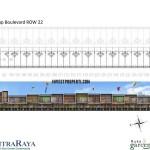 Floor Plan Ruko Garden Boulevard Citra Raya 3