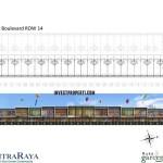 Floor Plan Ruko Garden Boulevard Citra Raya 4