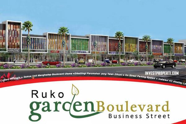 Ruko Garden Boulevard Citra Raya