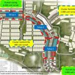 Site Plan Ruko Garden Boulevard Cikupa Raya