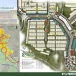 Site Plan Garden Boulevard Citra Raya