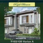 Rumah Royal Blossom The Green Tipe 102