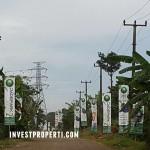 Jalan menuju Perum Jade Park Serpong