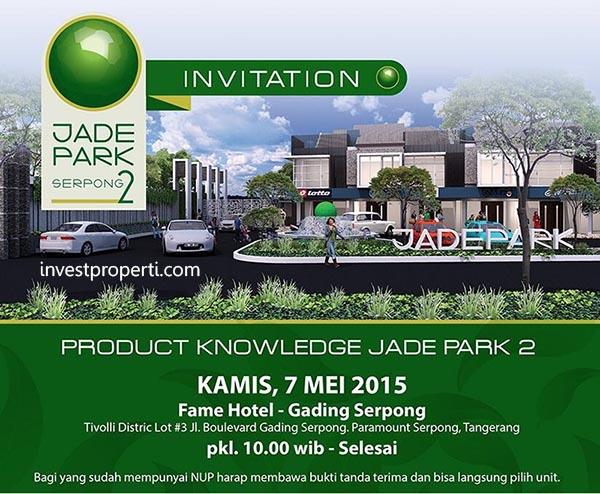 Launching Perumahan Jade Park 2 Serpong