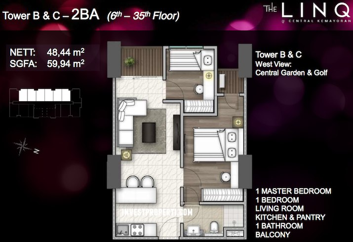 Tower BC - Tipe 2 BA