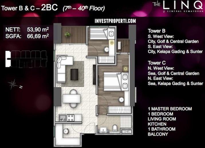 Tower BC - Tipe 2 BC