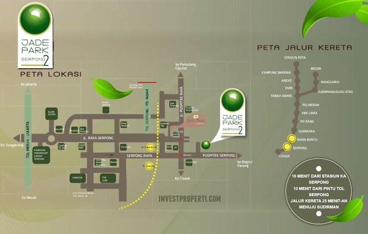 Peta Lokasi Jade Park Serpong 2