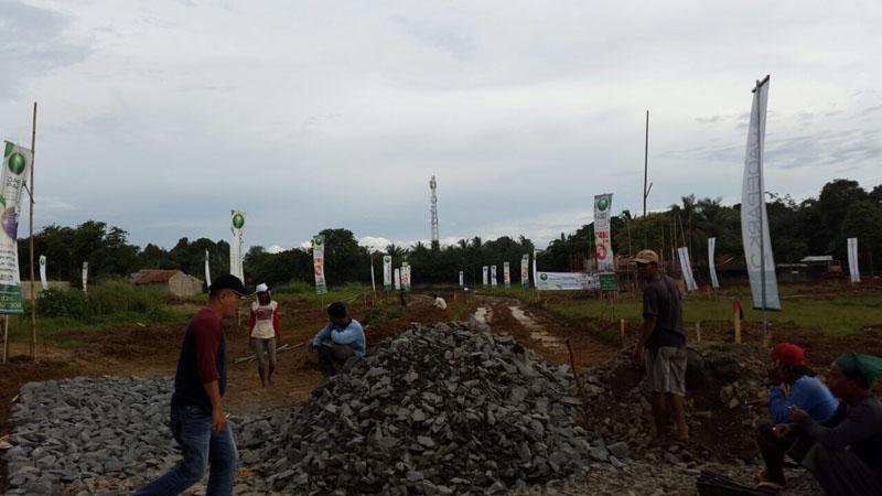 Progress Proyek Jadi park Serpong