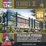 Penjualan Perdana Ruko Terrace 8 Suvarna Sutera