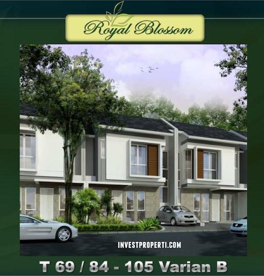 Rumah Royal Blossom The Green Tipe 84 B
