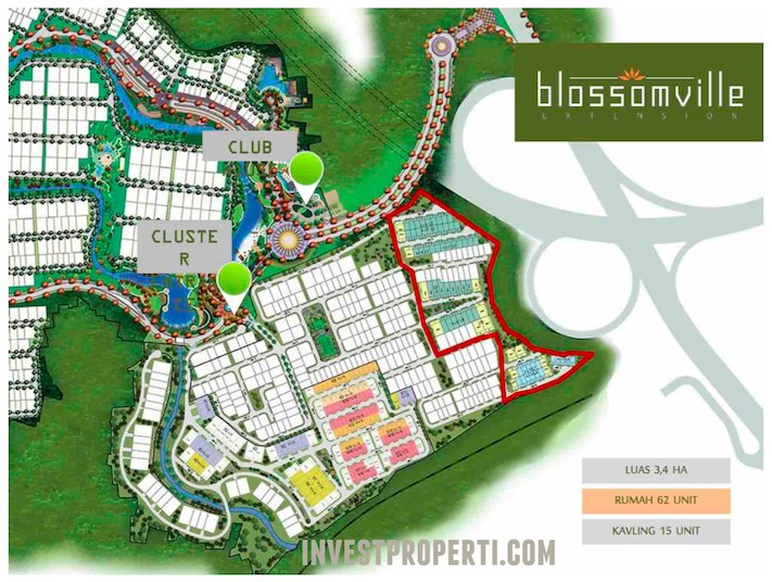 Site Plan Blossom Extension BSD
