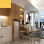 Tree Park City Apartment 2 BR Kitchen Design