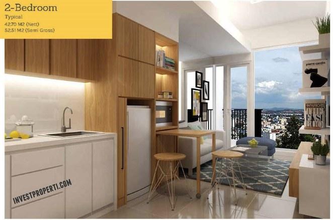 Tree Park City Apartment 2 Br Kitchen Design