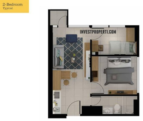 Tree Park City Apartment 2 Br Floor Type