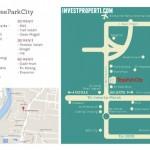 Tree Park City Tangerang Map