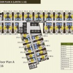 Floor Plan A 1-16