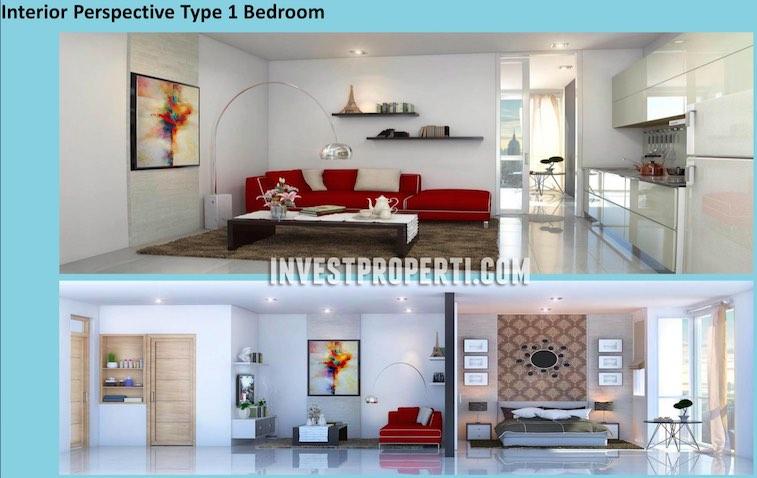 Tipe 1 BR Interior Design