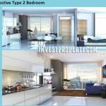 Tipe 2 BR Interior Design