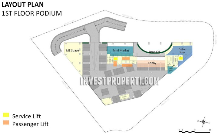 SilkTown AlSut Podium Floor Plan
