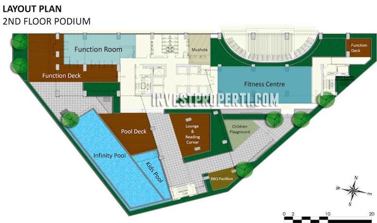 SilkTown AlSut 2nd Floor Plan