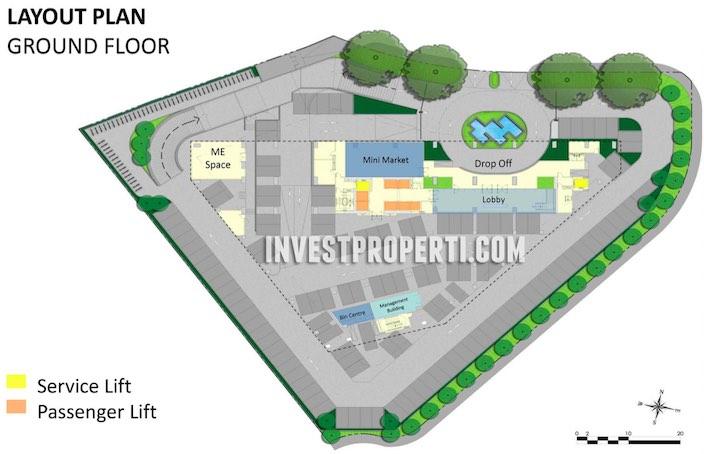 SilkTown AlSut Ground Floor Plan
