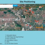 SilkTown Alam Sutera Map Location