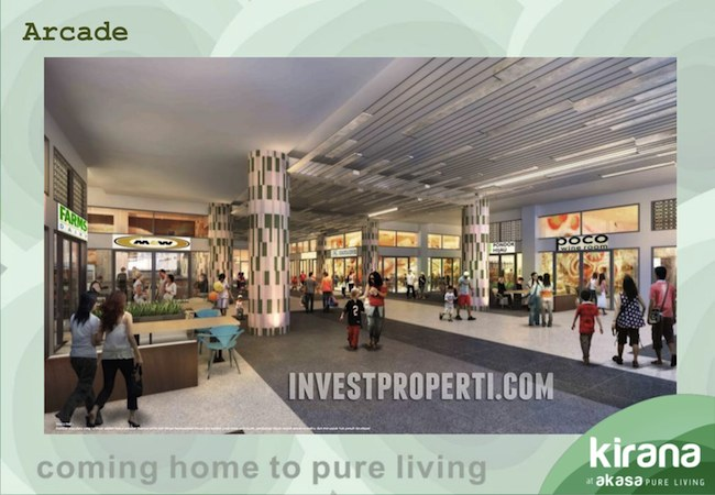 Brosur Akasa Pure Living BSD City Apartment