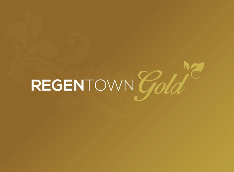 Brosur Regentown Gold BSD City