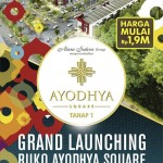 Brosur Ruko Kota Ayodhya Square