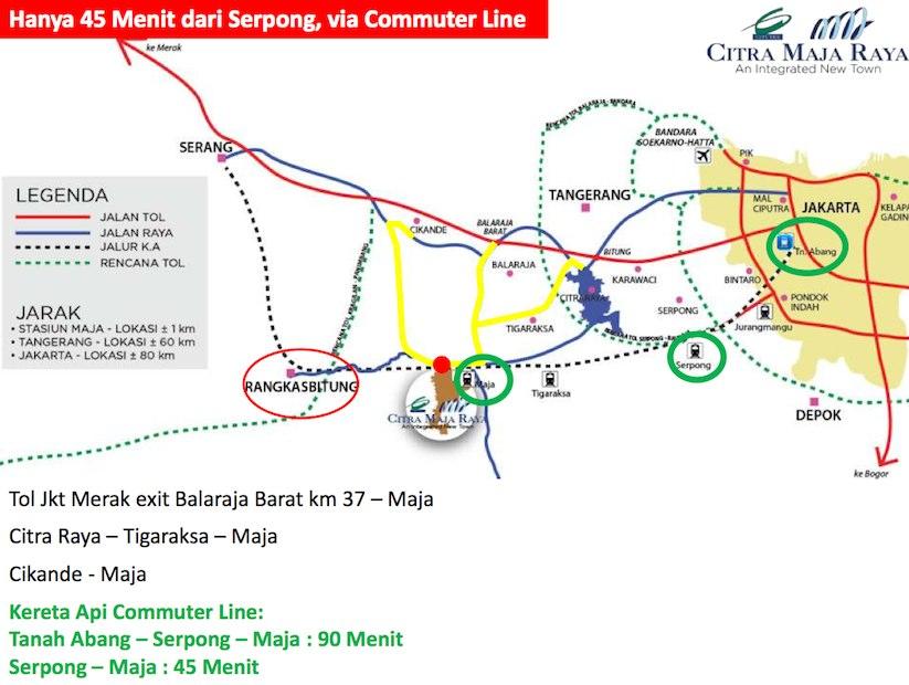 Jalur Transportasi Citra Maja Raya