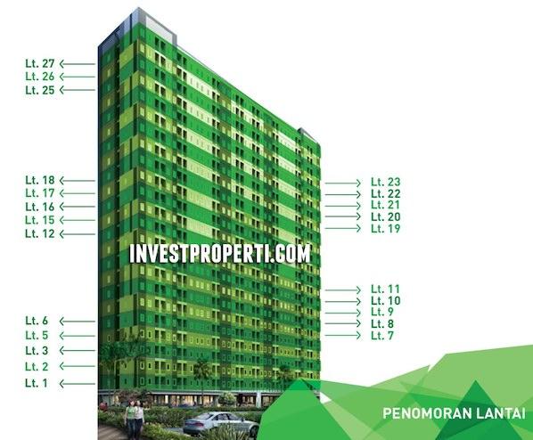 Emerald Bintaro Apartment Floors