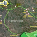 Map Emerald Bintaro Apartment
