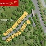 Master Plan Perumahan Regentown Gold BSD