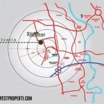 Radius Lokasi Perumahan Eminent BSD City