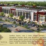Brosur Ruko Ayodhya Square Tangerang Alam Sutera