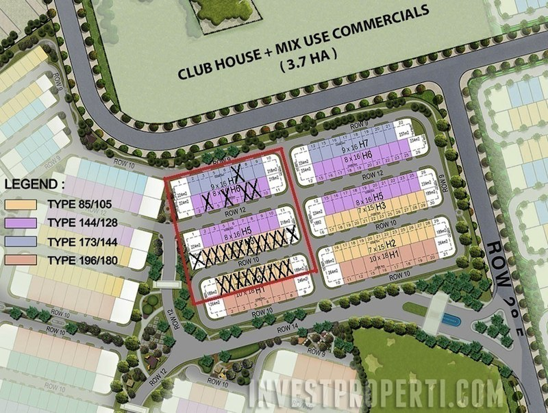 Stok Rumah New Vivacia BSD City