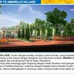 Gerbang Perumahan Amarillo Village
