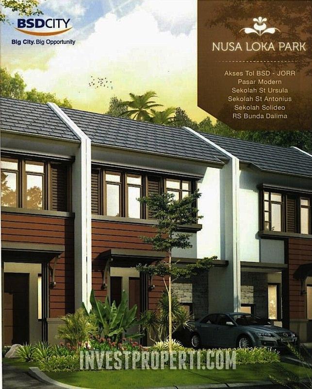 Jual Rumah Nusa Loka Park BSD