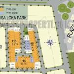 Master Plan Cluster Nusa Loka Park BSD