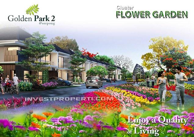Golden Park 2 Serpong Cluster Flower Garden