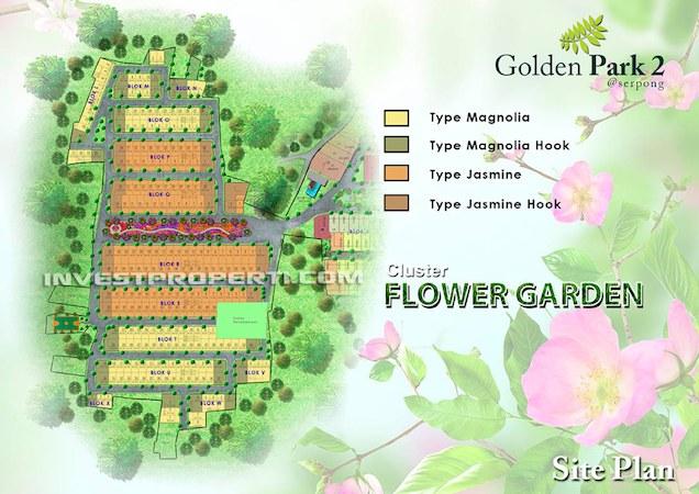 Golden Park2 Serpong Site Plan