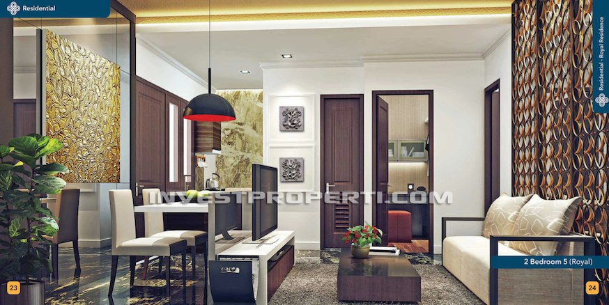 Royal Residence 88 Balaraja Interior Design 2 BR