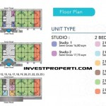 Royal Residence 88 Balaraja Floor Plan