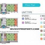 Royal Residence 88 Balaraja Floor Plan