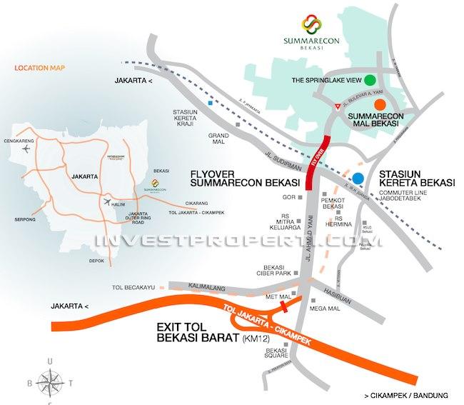 Summarecon Bekasi Map Location