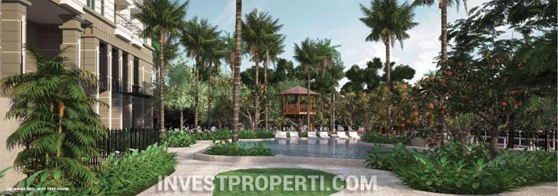 Antasari Heights Apartment Pool