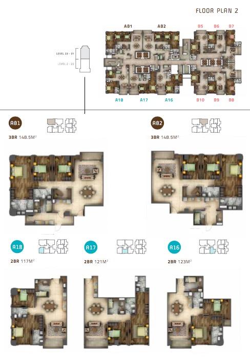 Unit Antasari Heights Apartment