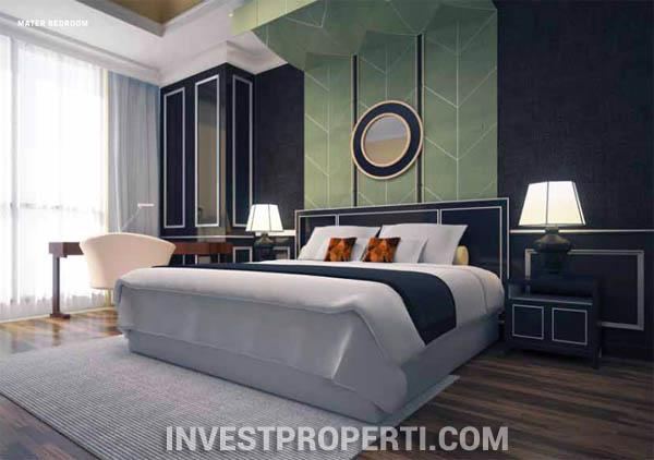 Master Bedroom Antasari Heights Apartment Jakarta